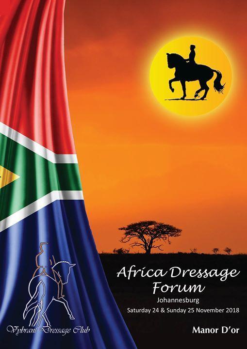 Africa Dressage Forum Flyer